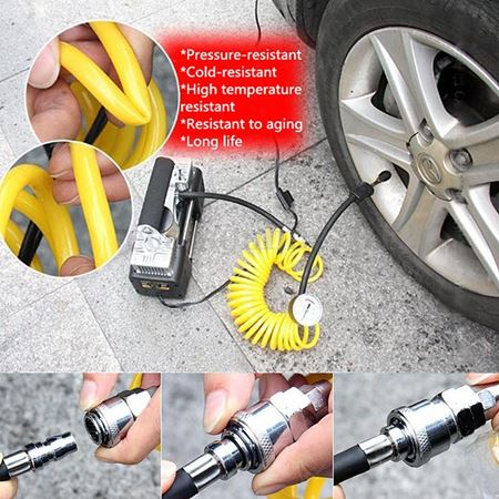 Picture of 12v 150PSI Air Compressor Double cylinder Heavy Duty for Car/ Van/4x4 Tyre Inflator Pump