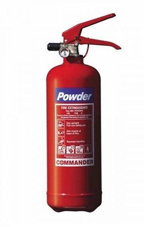 Picture of FIRE EXTINGUISHERS 1KG - DRY POWDER ABC, Perfect for Taxi, Boat Caravan and Home