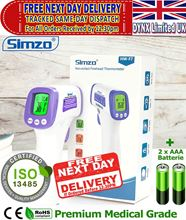 Picture of Digital Thermometer Forehead Non Contact CE Approved Accurate Temperature Professional Medical Grade