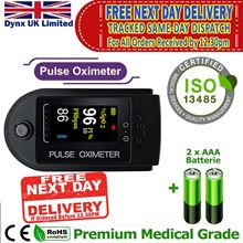 Picture of Oxygen Saturation Monitor SATS Monitor - SPO2 Pulse OXIMETER SATS Probe - Blood Oxygen Finger Monitor, CE ROHS approved